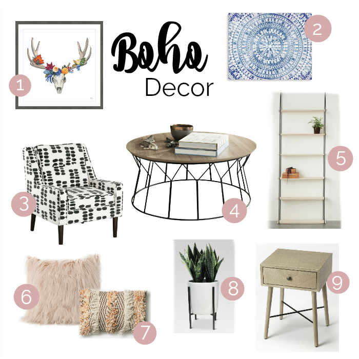 Today Weu0027re Sharing Our Second Post In The Home Décor Series! This  Inspiration Was Based On A Bohemian Theme. I Recently Redecorated My Room  With This Style ...